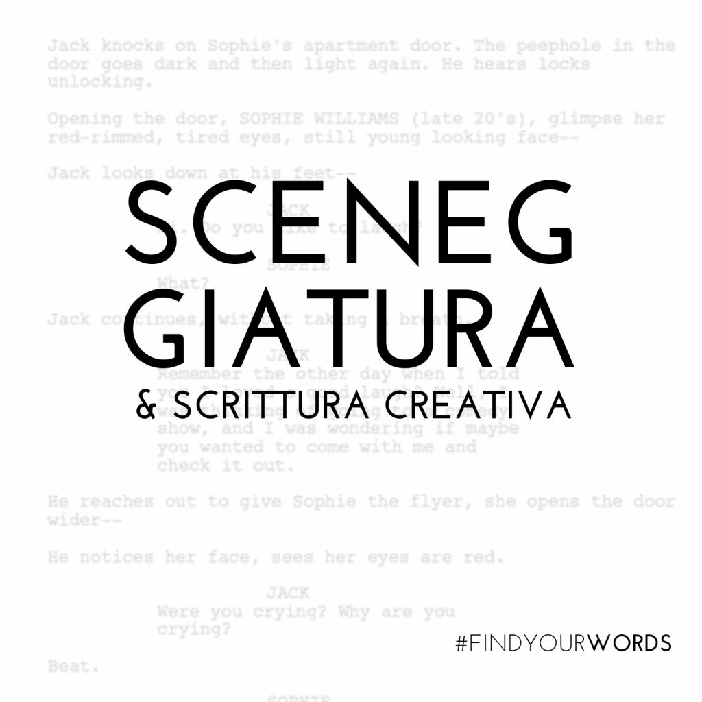 Corso di sceneggiatura e scrittura creativa – Musicalmente Parlando